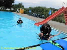 RC Diving Training 03.08.2012