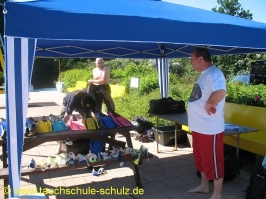 Schnuppertauchen mit der DLRG Ebstorf 26.06.2010