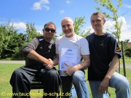 Holger Bombeck, IDA CMAS Tauchsicherheit/Tauchrettung, 29.06.2014